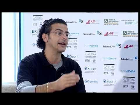 David Espí en el Día de la Persona Emprendedora Comunitat Valenciana 2012