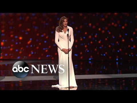 Caitlyn Jenner's Moving Speech at the ESPY Awards | Nightline | ABC News