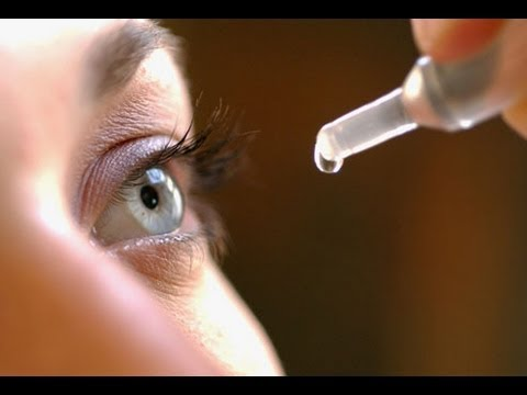 How to use eye drops properly