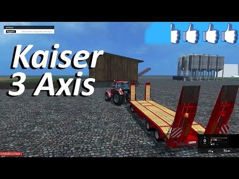 Kaiser 3 axes V1