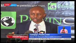 Friday Briefing: Pewin Cabs rolls out Mobile App 'Dandia' to expand on market, 23/09/16