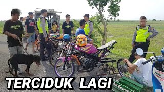Video Terciduk lagi sama pak polisi pas setting dragbike _ prepare dragbike purbalingga MP3, 3GP, MP4, WEBM, AVI, FLV Januari 2019