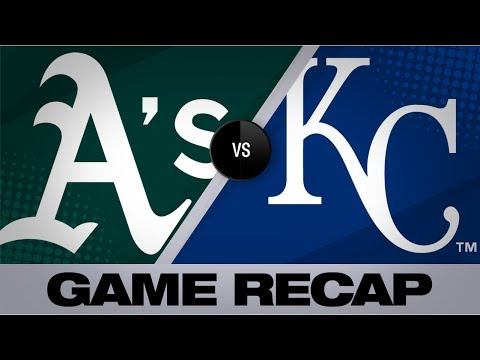 Video: Brown goes 4-for-5, Profar homers in 9-7 win | Royals-A's Game Highlights 8/29/19