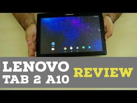 Lenovo Tab 2 A10 Tablet Review