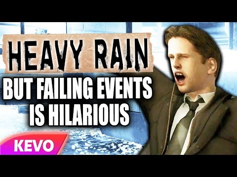 Download Heavy Rain but failing events is hilarious HD Mp4 3GP Video and MP3
