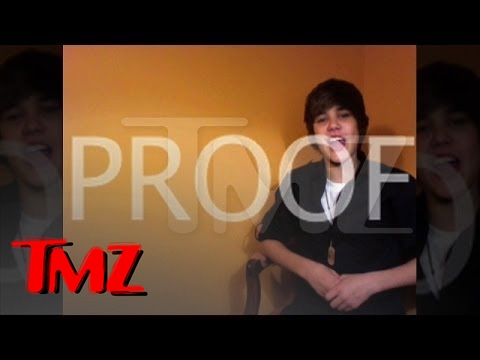JUSTIN BIEBER (14 Year Old)- Sings Parody 'One Less Lonely Ni**a'