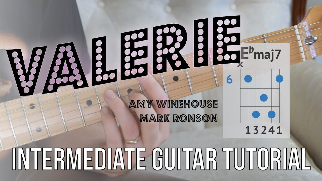 """Valerie"" Guitar Tutorial – Electric Guitar 