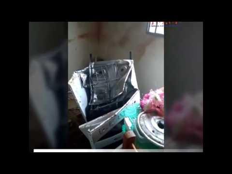 Panela de pressão explode e fogão fica destruído em Congonhal MG