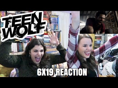 "TEEN WOLF 6X19 ""BROKEN GLASS"" REACTION"