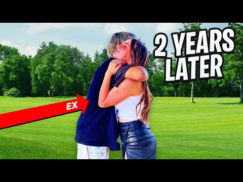 REUNITING WITH MY EX BOYFRIEND FOR THE FIRST TIME IN 2 YEARS **emotional**💔  Piper Rockelle