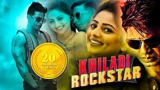 Khiladi Rockstar New Hindi Dubbed Full Movie | 2018 Kannada Comedy Movies