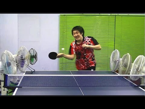 Japanese Ping Pong Players Perform MindBlowing and Hilarious Trick