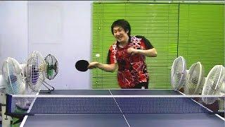 Dobry jest skubaniec! Ping pong w wykonaniu Azjaty to już wyższa szkoła jazdy :D