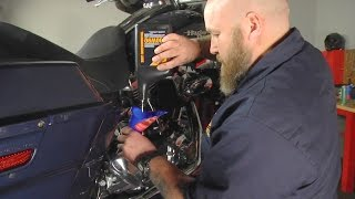 7. How to  Change Transmission Lube on Harley-Davidson Touring Models by J&P Cycles