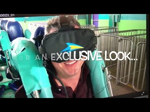 First look at SeaWorld's new ride, show includes virtual reality coaster | Digital Short