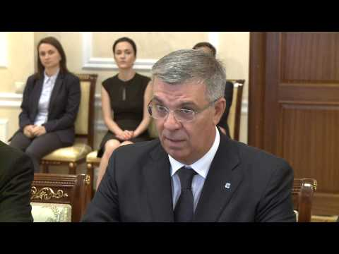 Moldovan president meets Romanian high-ranking official