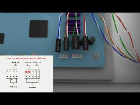 Build a PC - 5: Front Panel Connectors