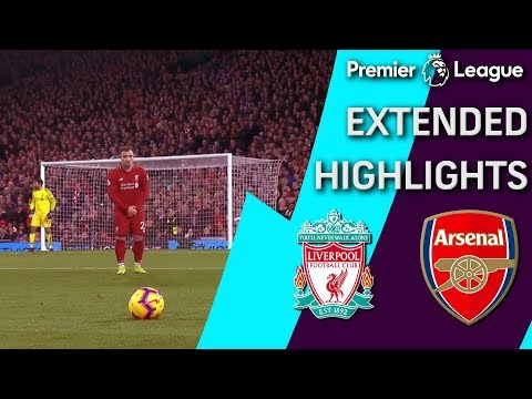 Video: Liverpool v. Arsenal | PREMIER LEAGUE EXTENDED HIGHLIGHTS | 12/29/18 | NBC Sports