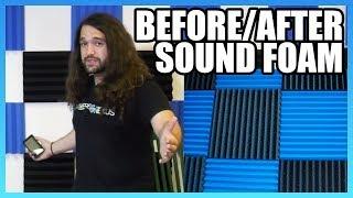 Do Foam Panels Work? Sound Treatment Comparison at GN HQ
