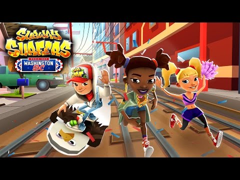 Subway Surfers World Tour 2016 - Washington, D.C. (видео)