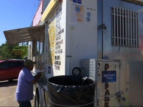 Houston Taco Trucks Registering Voters