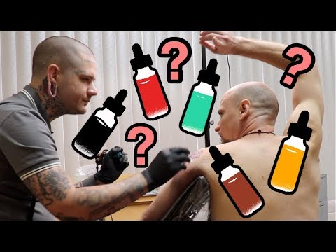 Why I Only Tattoo With 4 Colors