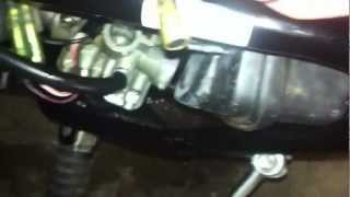 6. Yamaha PW 50 checking carb..part 2
