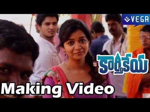 Karthikeya Movie Making Video - Nikhil Siddhartha, Swati Reddy - Latest Telugu Movie 2014