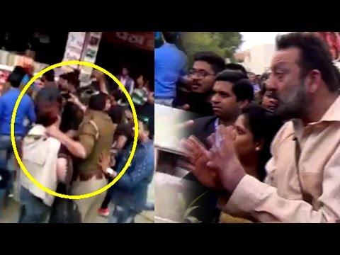 WTF! Sanjay Dutt's Bodyguard BADLY Beats Up Media,