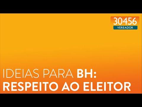 Ideias para BH: respeito ao eleitor