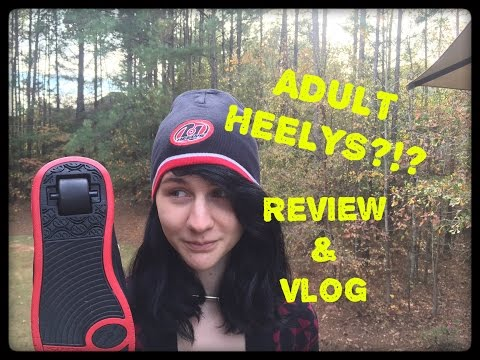 Bonus Vlog: We Review and Roll on Adult Heelys, Which Exist!