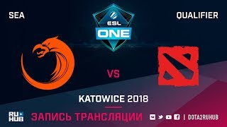 TNC vs New Beginning, ESL One Katowice SEA, game 1 [Mila, LighTofHeaveN]