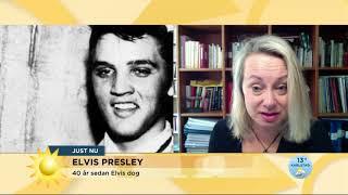 Nyhetsmorgon i TV4 från 2017-08-16: Idag är det 40 år sedan legenden även kallad The King Elvis Presley dog. Så här minns Louise Hoffsten Elvis.