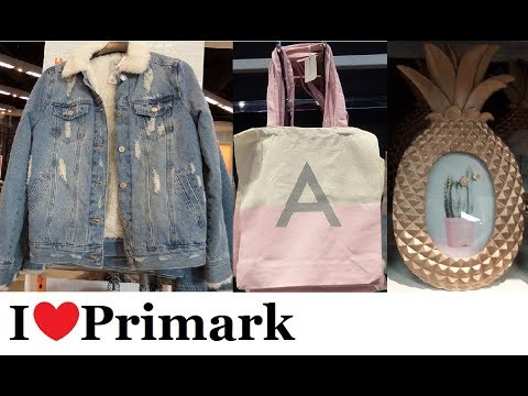 Everything New at Primark | March 2018 | I❤Primark