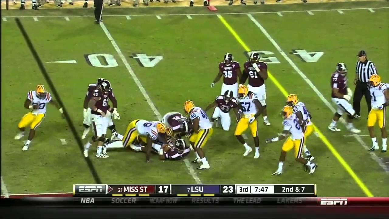 Barkevious Mingo vs Mississippi State (2012)