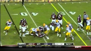 Barkevious Mingo vs Mississippi Sta