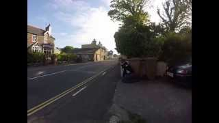 This is just a little footage from where I was sat right next to the road in kirk Michael. The bikes can get up to 170mph through this...