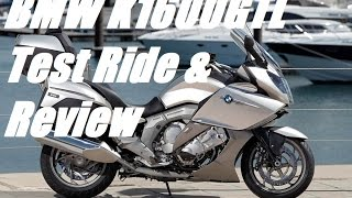 8. 2015 BMW K1600GTL Test Ride and Review