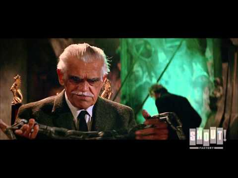 Boris Karloff Searches Creepy Basement - Die, Monster, Die! (1965)