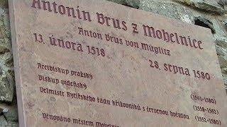 Slavnostní odhalení pamětní desky Antonína Bruse