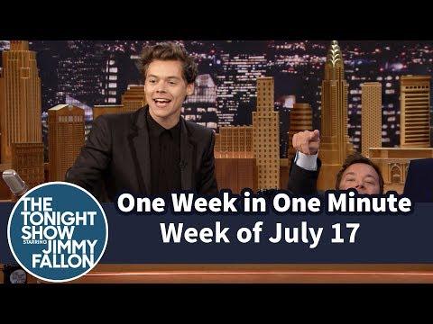 One Week in One Minute: Week of July 17