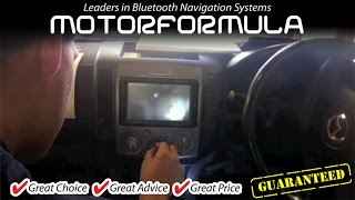 4. Car GPS DVD Player radio stereo head unit Mazda BT50 Installation guide Ford Ranger