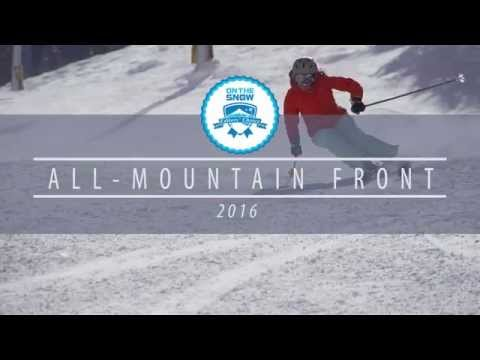 2015/2016 Editors' Choice Skis: Women's All-Mountain Front