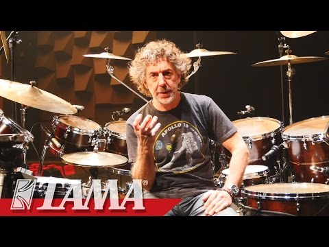 Simon Phillips on STAR Maple Drum kit.
