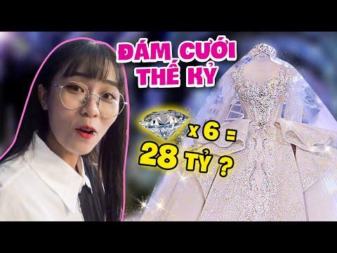 Thực đơn đám cưới Xemesis - Xoài Non có gì? MisThy lần đầu thấy váy cưới 28 tỷ
