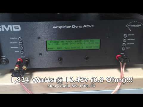Tested Skar Audio SK-1500.1D