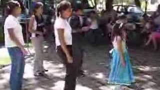 Children Dancing In Santa Anna El Salvador