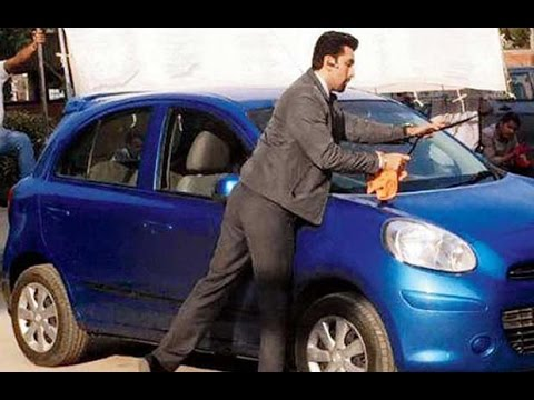 Ranbir Kapoor Is The New Car Washer!