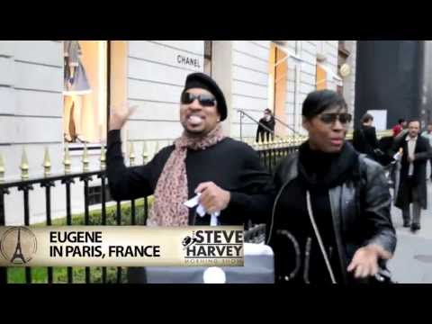Eugene from The Steve Harvey Morning Show :: shopping in Paris, France