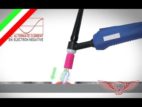 Come funziona il saldatore TIG sull'alluminio CV - 05 - RCB tutorial veloci